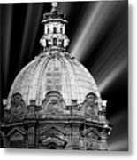 Cupola In Rome Metal Print