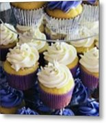 Cuppy Cakes Metal Print