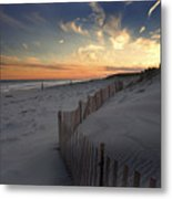 Cupsogue Beach Sunset Metal Print