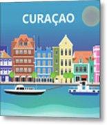 Curacao Horizontal Scene Metal Print