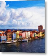 Curacao Oil Metal Print
