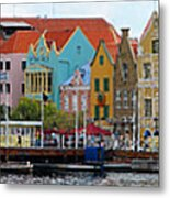 Curacao Willemstad Panorama Metal Print