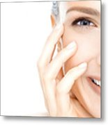 Cure Acne Through Unconventional Methods Metal Print