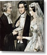 Currier: The Marriage Metal Print