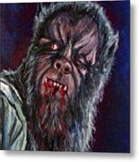 Curse Of The Werewolf Metal Print