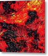 Curved Lines 8 Metal Print