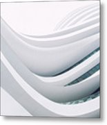 Curves In Architecture Metal Print