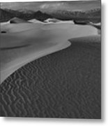 Curves Into The Night Metal Print