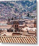 Cusco Cityscape Metal Print