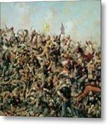Custer's Last Stand Metal Print by Edgar Samuel Paxson