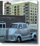 Custom Chevy Asbury Park Nj Metal Print