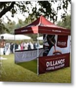 Custom Event Tents For Branding Metal Print