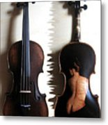 Custom Gliga Violin 2 Metal Print
