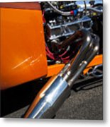 Custom Hot Rod Engine 2 Metal Print