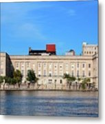 Custom House Metal Print