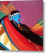 Custom Kachina Metal Print