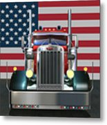 Custom Peterbilt 2 Metal Print by Stuart Swartz