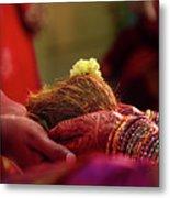 Customs Of The Kannada Wedding Metal Print