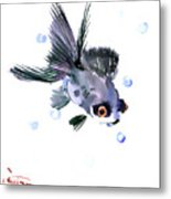 Cute Fish Metal Print