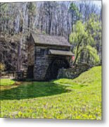 Cuttalossa Mill In The Springtime Metal Print