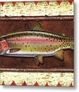 Cutthroat Trout Lodge Metal Print