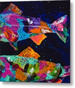 Cutthroats Metal Print by Tracy Miller