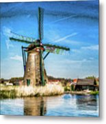 Cutting Through The Wind Metal Print
