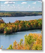 Cuyuna Country State Recreation Area - Autumn #1 Metal Print