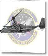 Cv-22b Osprey 71sos Metal Print