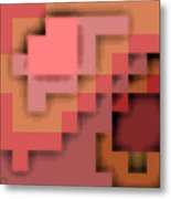 Cyberstructure 12 Metal Print by Eikoni Images