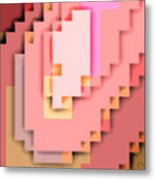 Cyberstructure 15 Metal Print by Eikoni Images