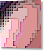 Cyberstructure 4 Metal Print by Eikoni Images