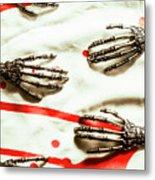 Cyborg Death Squad Metal Print