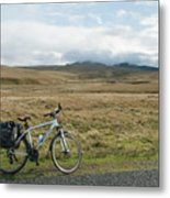 Cycle Across The Beacons Cycle Route. Metal Print