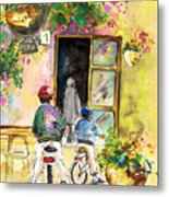 Cycling In Italy 04 Metal Print