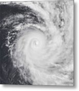 Cyclone Zoe In The South Pacific Ocean Metal Print