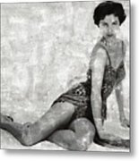 Cyd Charisse Hollywood Actress And Dancer Metal Print