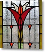 Cyndees Window Metal Print