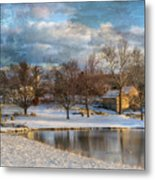 Cyrus Mccormick Farm Metal Print by Kathy Jennings