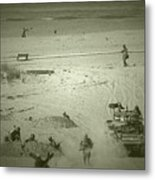 D-day Reenactment Metal Print
