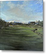D P World Tour Championship - 18th Tee Metal Print
