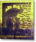 D U Rounds Project, Print 12 Metal Print