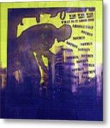 D U Rounds Project, Print 24 Metal Print