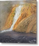 D09126 Outlet Of Midway Geyser Basin Metal Print