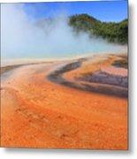 D09132 Colorful Grand Prismatic Spring Metal Print