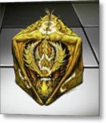 D8 Dragon Metal Print