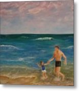 Daddys Girl Metal Print