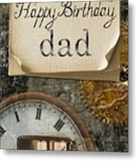 Dad's Birthday Metal Print