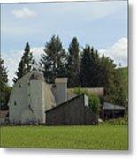 Dahmen Barn Historical Metal Print