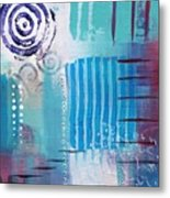 Daily Abstract Four Metal Print